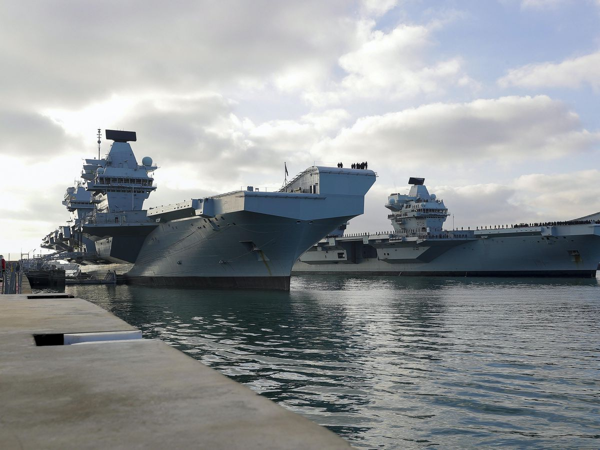 Royal Navy carriers