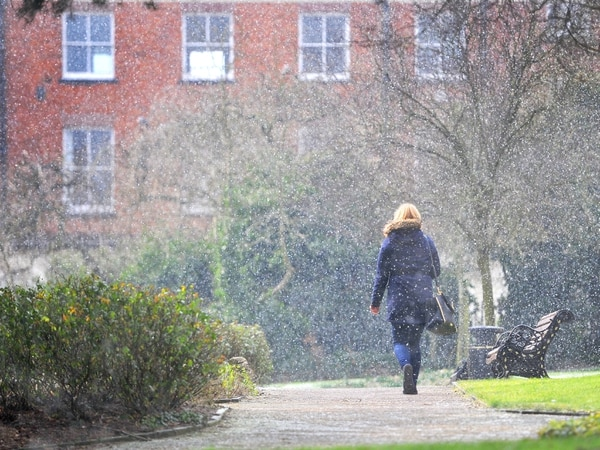 Snow flurries arrive as cold snap bites in the West Midlands