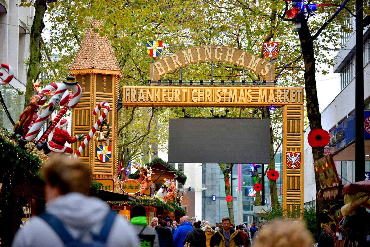 The Frankfurt Christmas Market is back in Birmingham for its 20th year