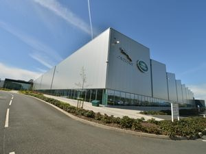 JLR's Manufacturing Centre on the i54 Business Park, Wolverhampton. .