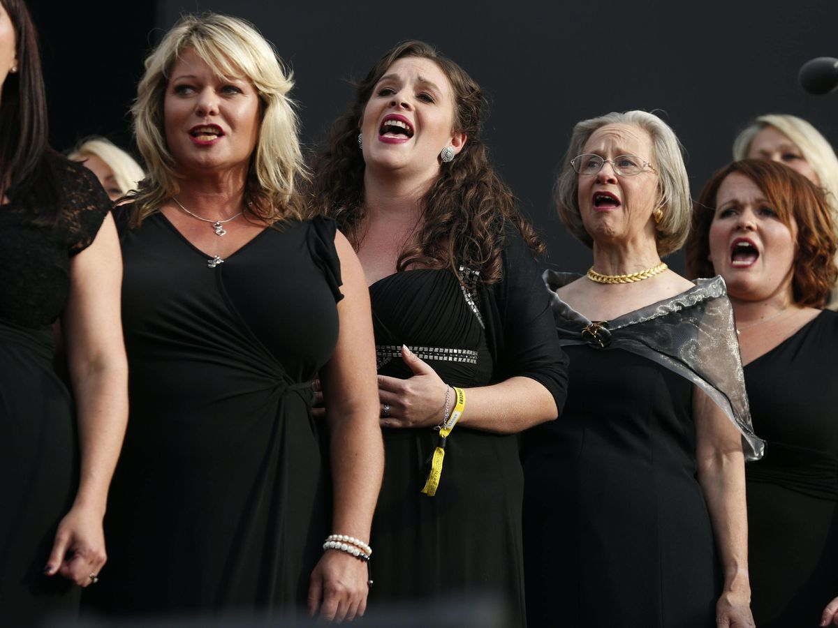 Members of the Military Wives Choir