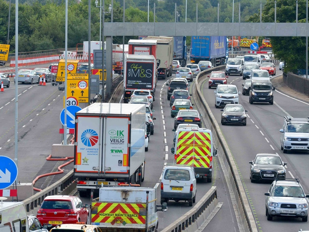Delayed M5 roadworks will now run throughout the summer