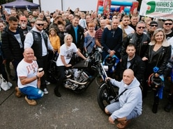 Hundreds of bikers turn out for second Justice for Ryan ride