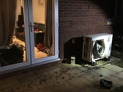 Bungalow air conditioner fire 'was arson'