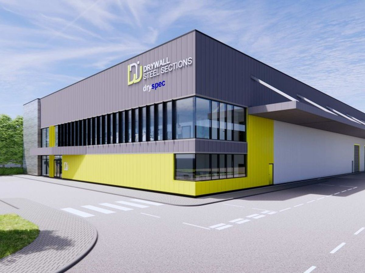 Artist impression of proposed new Drywall Steel Sections HQ in Wolverhampton. Photo: Pinnegar Hayward Design