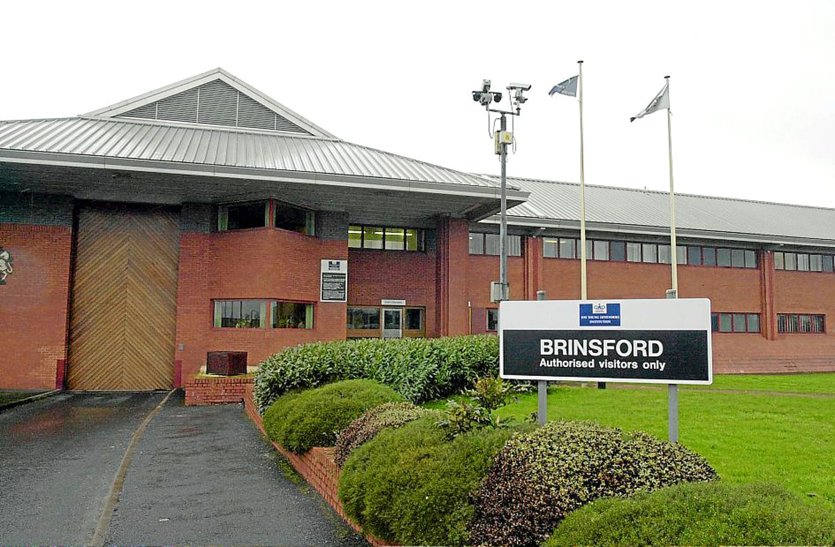 Brinsford Young Offender Institution, where the attach happened