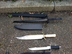 Criminals stashing knives in parks amid rise in stop and search, say police