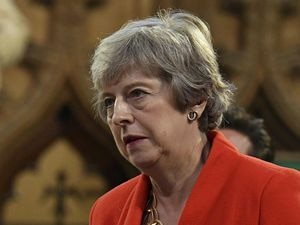 Theresa May (Daniel Leal-Olivas/PA)