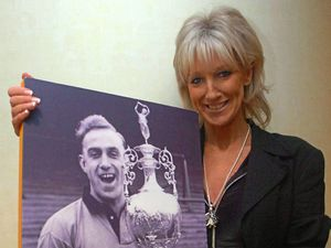 Vicky Wright (daughter of Billy Wright).