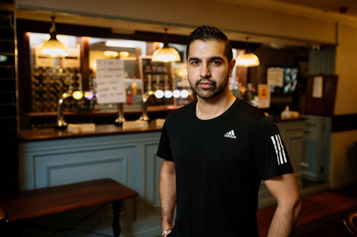 Bobby Basran from The New Merridale Pub in Wolverhampton