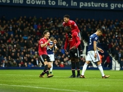 West Brom 1 Manchester United 2 - Report and pictures