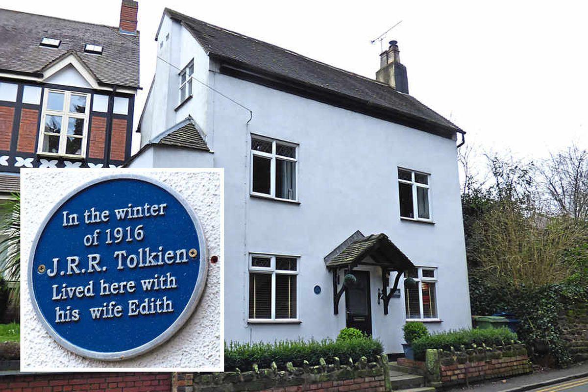 JRR Tolkien's former Staffordshire cottage up for sale