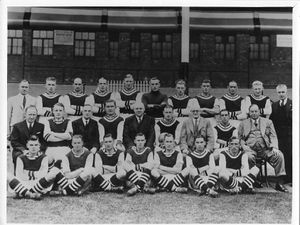 This photo of the Aston Villa team from the 1937/38 season will be up for sale