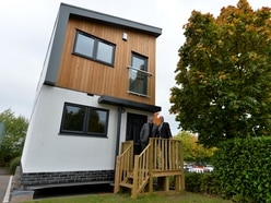 Check out the homes delivered on the back of a lorry