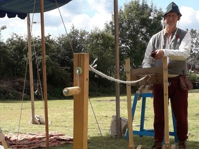 Ropemaking demo adds a new twist to county show