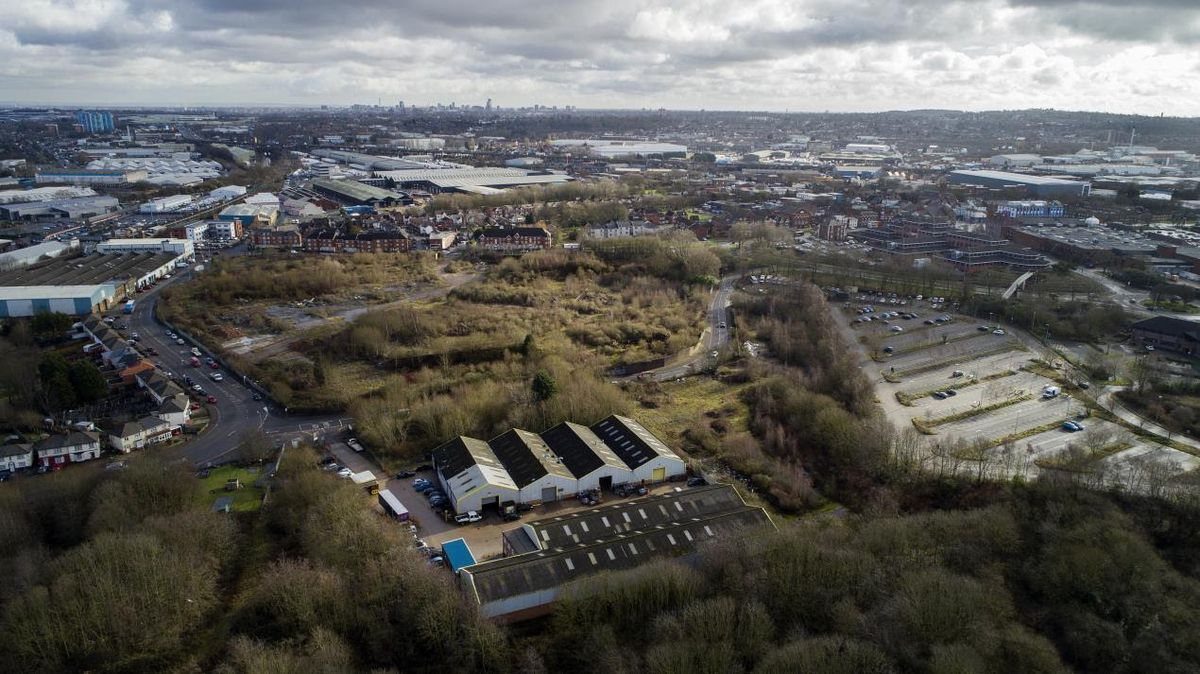 New life – The Fountain Lane site in Oldbury