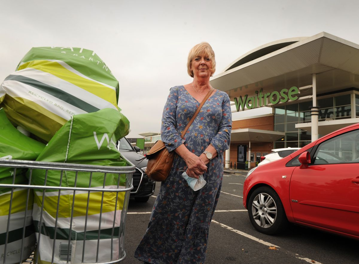 Amanda Browning, 62, from Stourbridge, said she was really sad about Waitrose closing because it was 'a really nice store'