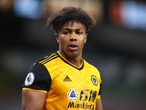 Adama Traore of Wolverhampton Wanderers
