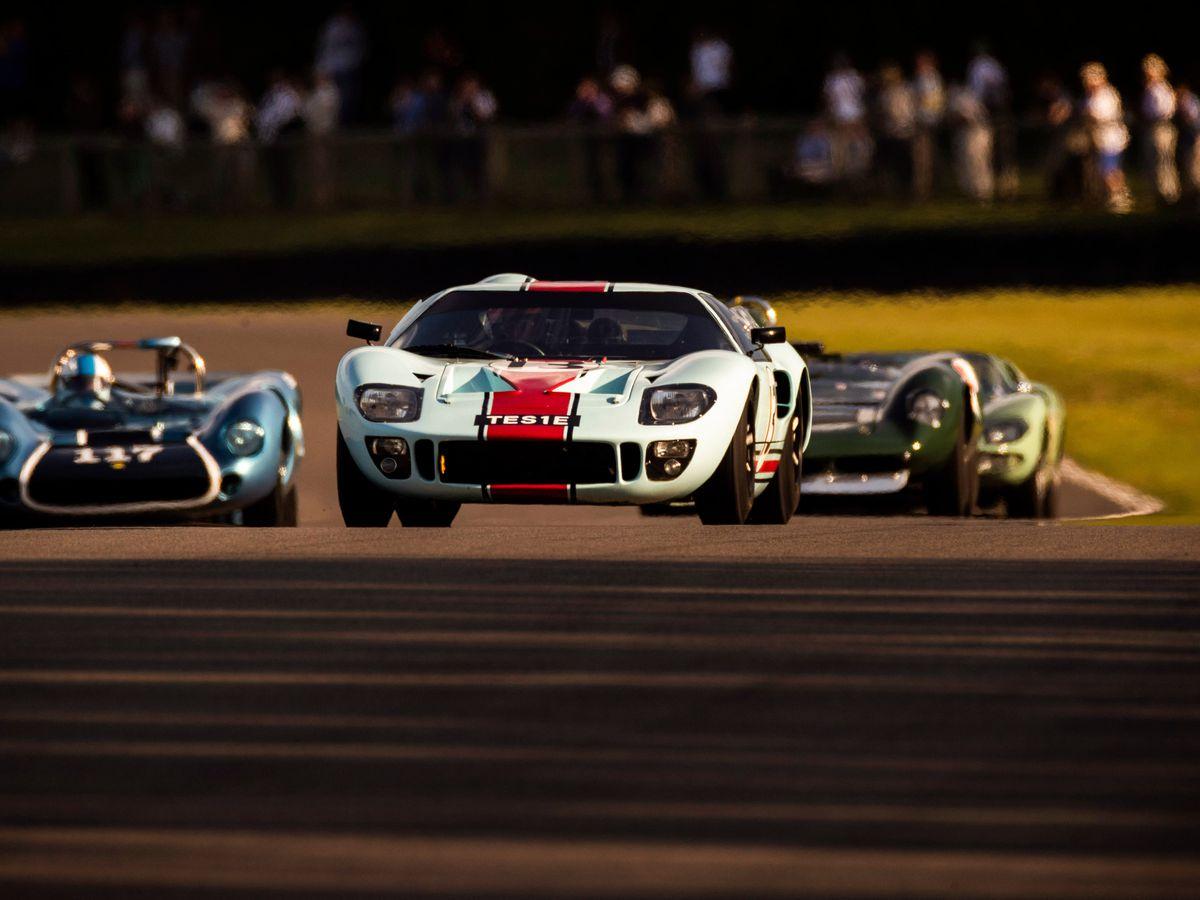 Classic racing on Goodwood Motor Circuit