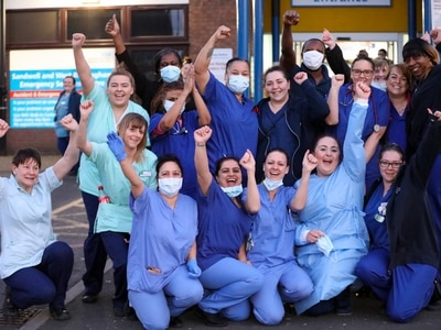WATCH: Thousands join #ClapforKeyWorkers in show of support amid coronavirus lockdown