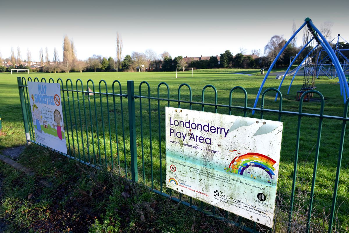 The Londonderry playing fields which will be redeveloped for the aquatics centre