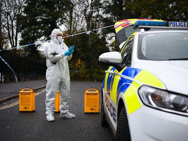 Crawley stabbing scene