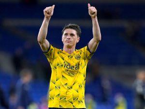 West Bromwich Albion's Adam Reach