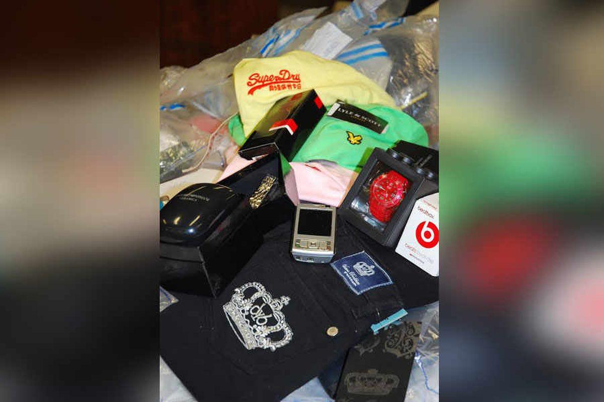 £1.5m fake designer clothes seized in raid