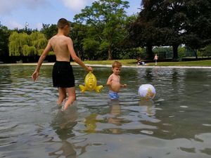 Tettenhall Pool after it reopened in 2019