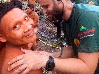 Amazonian tribe reunited with relatives they thought were dead
