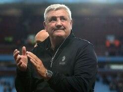 Steve Bruce describes pressure as a 'sick kick' as he reaches 100 games at Aston Villa