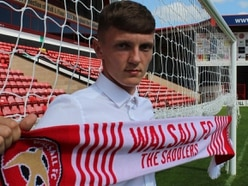 Teenage striker Mitch Candlin signs three-year deal at Walsall