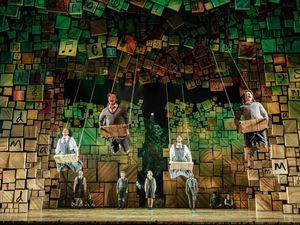 RSC Matilda The Musical UK & Ireland Tour. Photo Manuel Harlan