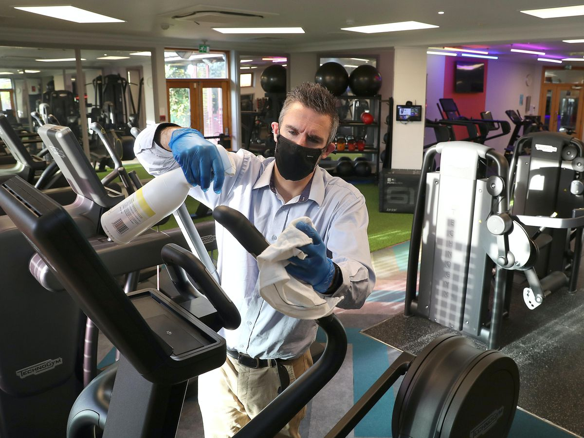 Gyms are allowed to reopen from Wednesday