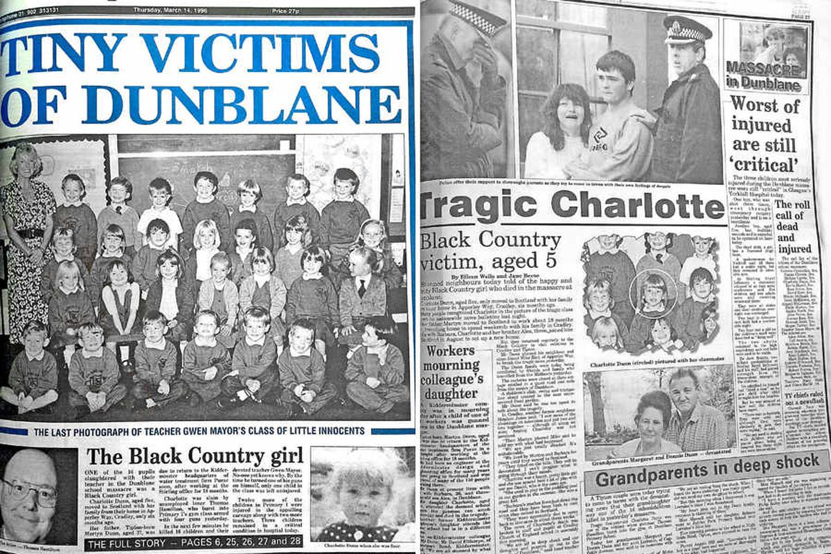 How the Express & Star reported the atrocity in 1996