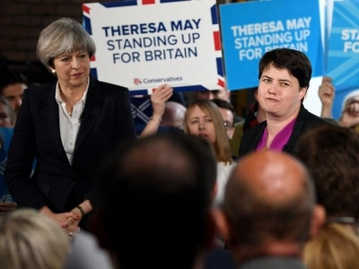 Ruth Davidson challenges rivals to back 'astonishing' PM to deliver on Brexit