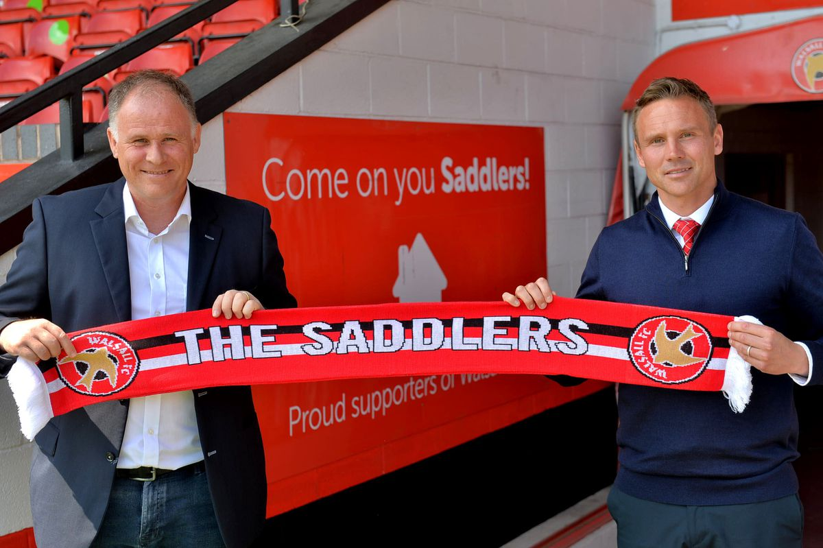 Matt Taylor (in the tie) here pictured with Asst Head Coach: Neil McDonald..