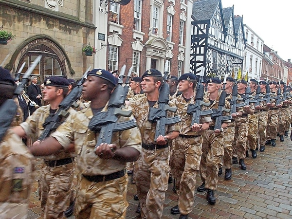 Proud 300 year history of Staffordshire's regiment