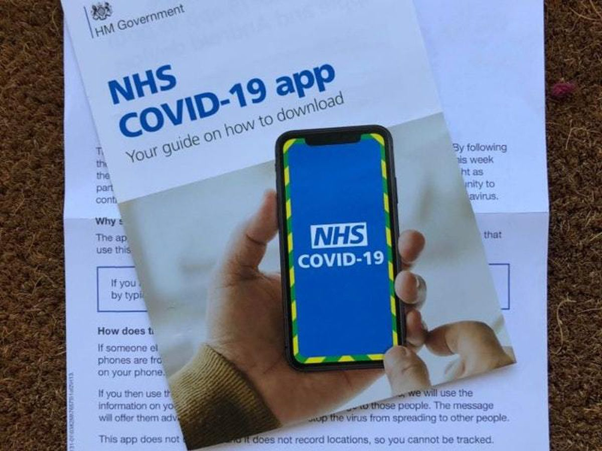 Isle of Wight residents are using the Government's NHS Covid-19 app