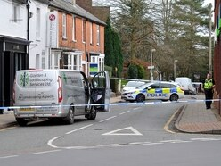 Tettenhall street cordoned off after elderly woman seriously injured in collision