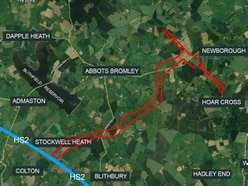 Huge HS2 power lines to be built across Staffordshire beauty spot