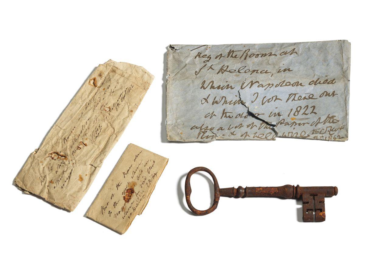 Napoleon key auction