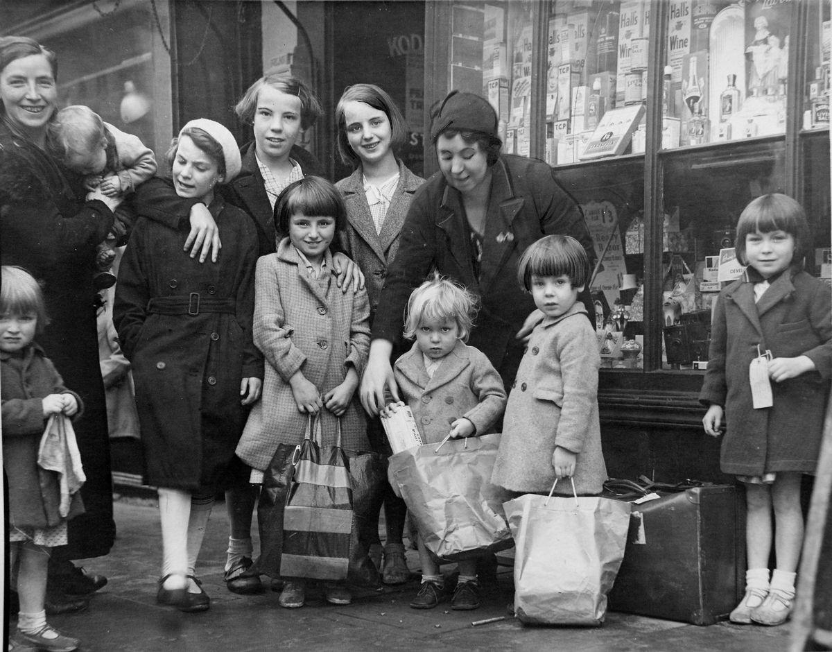 Bridgnorth evacuees in September 1939