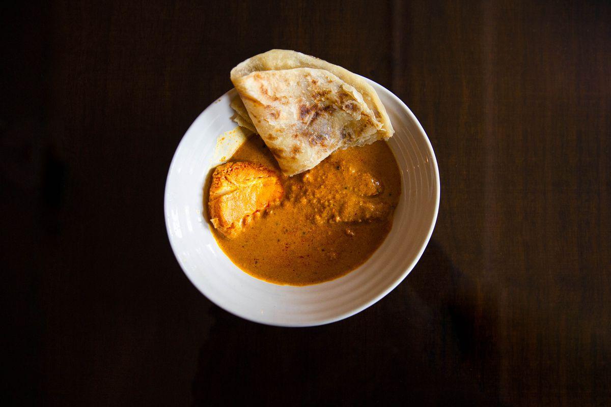 Kokum fish curry