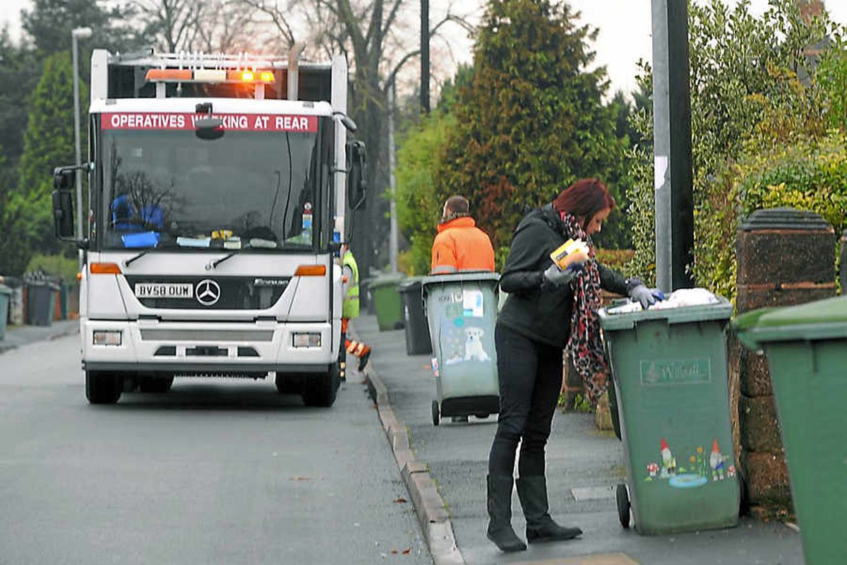 11,000 bins are not emptied in Walsall during recycling crackdown