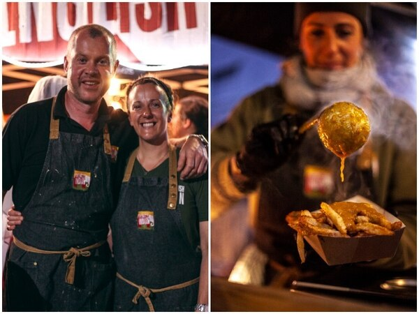 Couple famed for tasty Indian street food firm up for top award