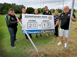 Revamped rugby club is target for vandals