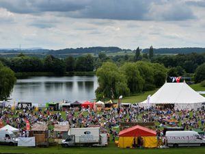 Black Country day is celebrated at Dudley Council's Black Country Musicom in the setting of Himley Hall