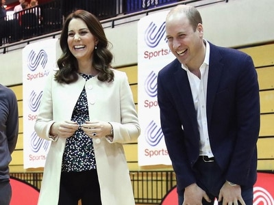 In Pictures: Sport and food on menu at Kate's last events before maternity leave