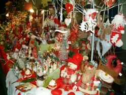 Christmas craft market visits Penkridge